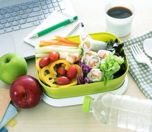 Healthy eating clean food