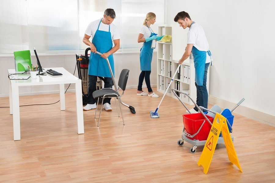 commercial cleaners