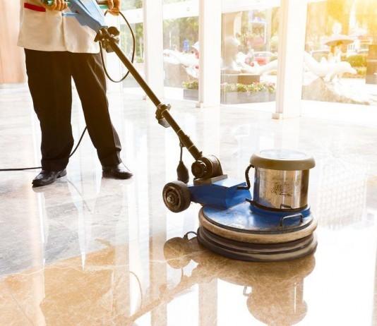polishing floors