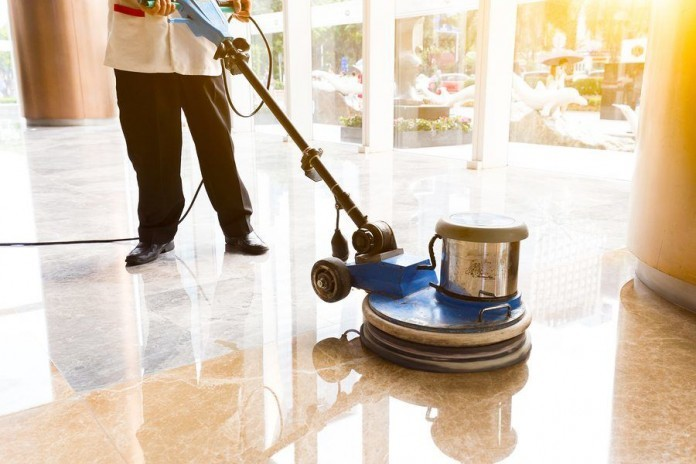 polishing floors