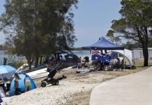 australia day flag celebrations