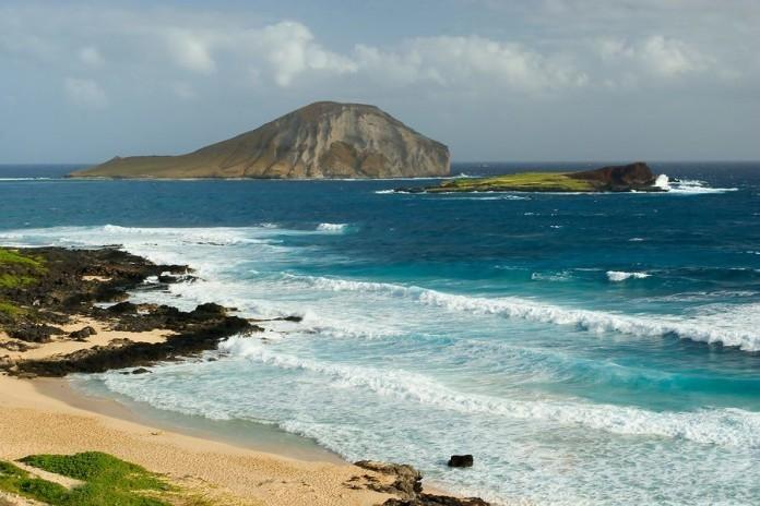 oahu, beach, hawaii, siren