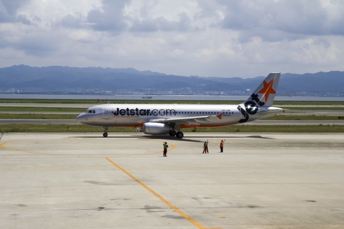 jetstar plane grounded