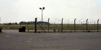 RAF base Mildenhall UK
