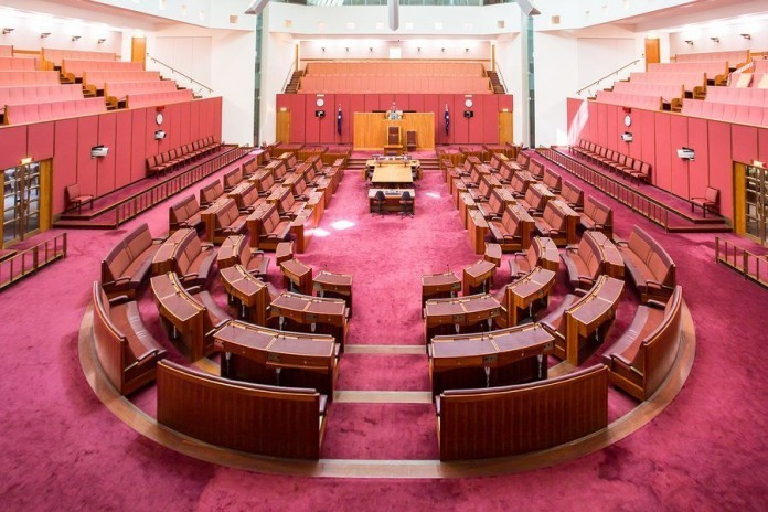 Canberra senate government