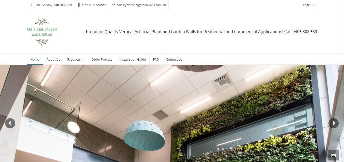 best artifical garden companies Australia