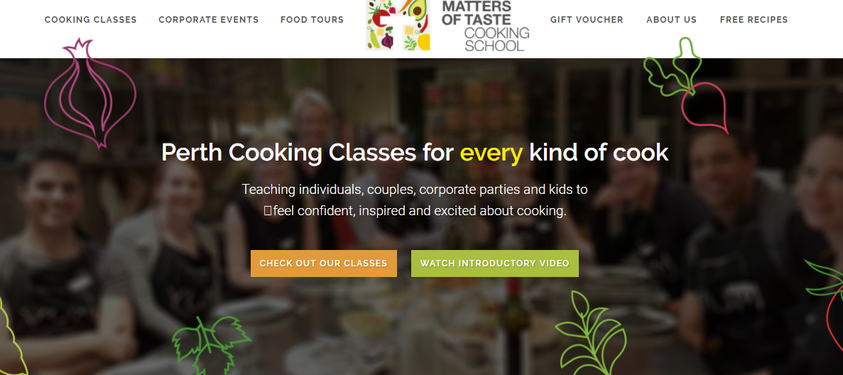 best cooking schools in perth