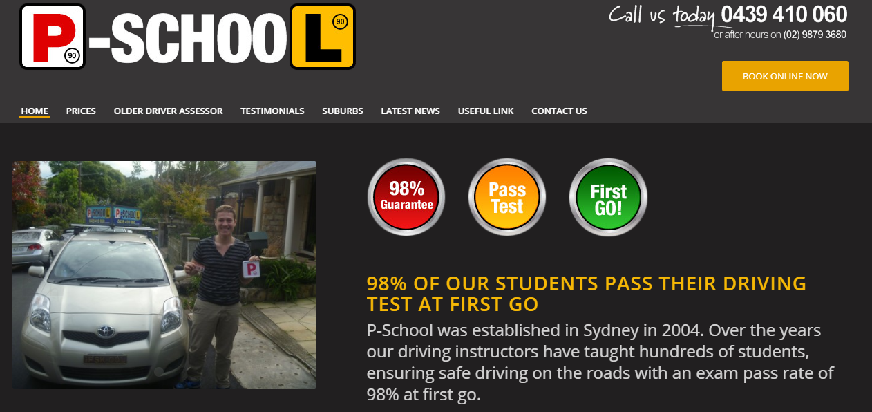 best driving school in sydney