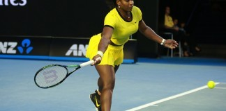 williams at the australian open