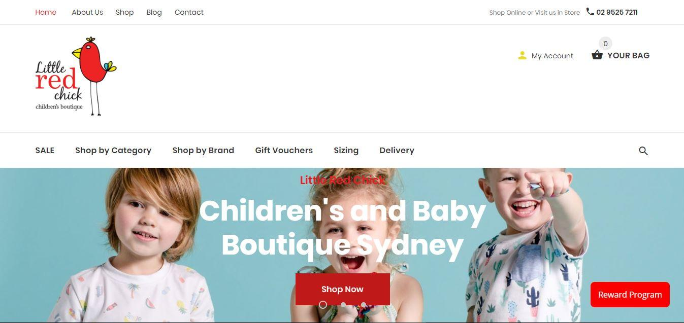 best children designer clothing store Sydney