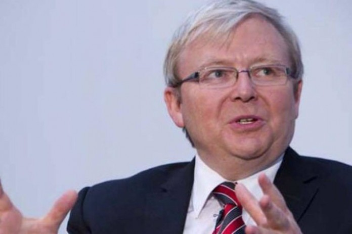 Kevin Rudd sues ABC false warning allegations