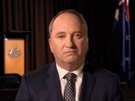 Barnaby Joyce urges not to discuss his affair in TV interview