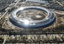 the new Apple headquarters
