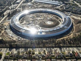the new Apple headquarters