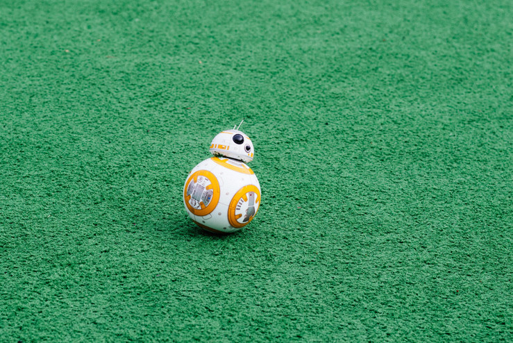 BB-8. Star Wars character