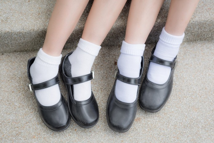 Hundreds of high school students get detention for wrong shoes