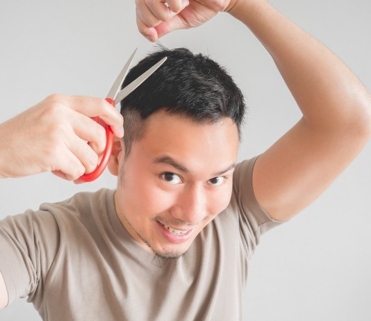 How cut your hair home save time money