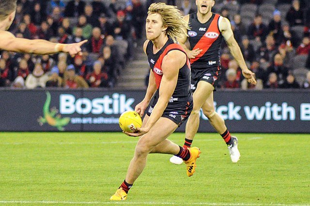 Dyson Heppell captains Essendon