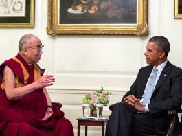 Dalai Lama international travel
