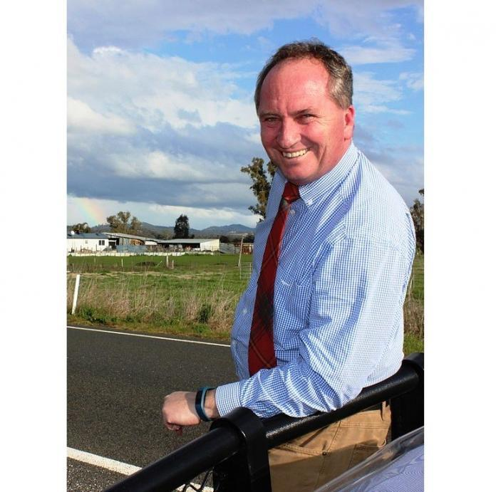 Barnaby Joyce officially registers Vikki Campion as his partner