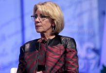 Trump's education secretary faces public backlash