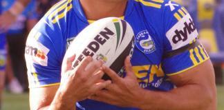 NRL player Jarryd Hayne