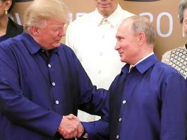 Trump applauds Putin on re-election and hopes they will meet soon