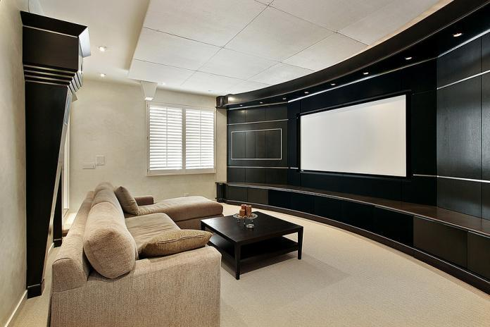 Hot design trends in home theatre