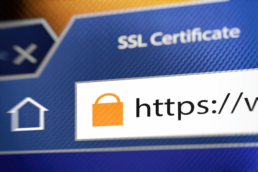 Use websites with an SSL