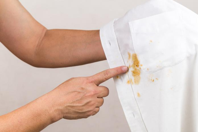 Removing stains doesn't always require chemicals