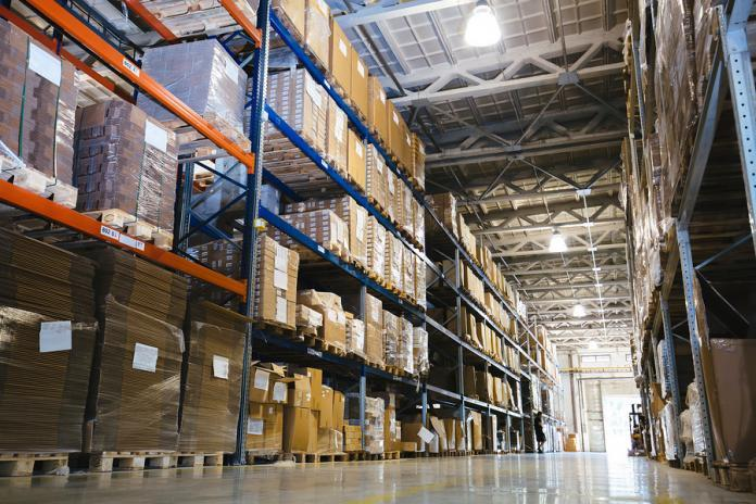 Warehouse Shelves and Palletizing for High Density Storage
