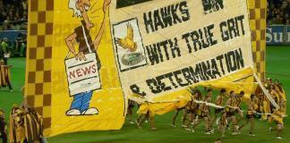 AFL team the Hawthorn Hawks