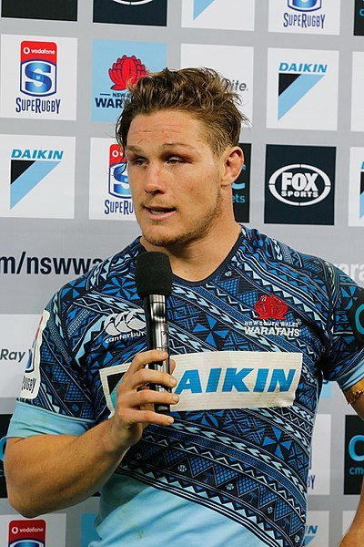 Australian rugby captain Michael Hooper