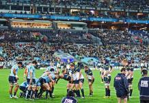 Super Rugby teams the Brumbies and Waratahs