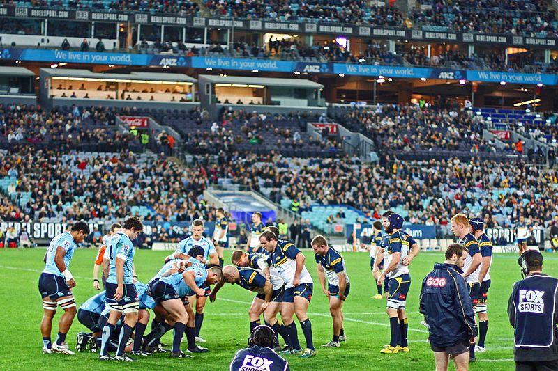 Super Rugby teams the Brumbies and Waratahs