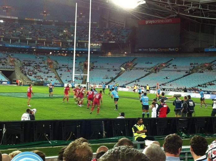 Waratahs and Reds rugby teams