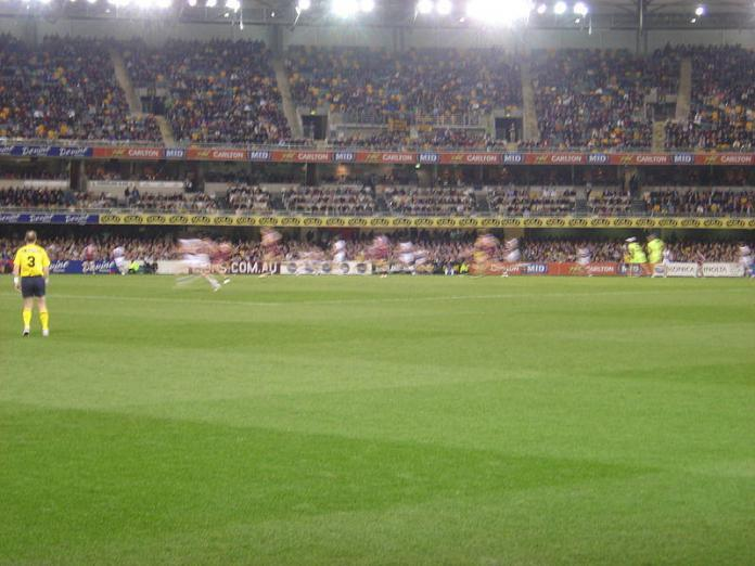 AFL at the Gabba