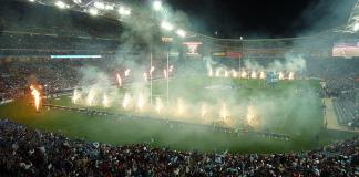 State of Origin at ANZ stadium