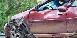 Salvaged car