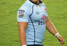 Super Rugby player Damien Fitzpatrick