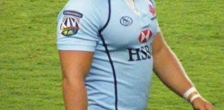 Super Rugby player Damien Fitzpatrick