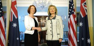 Hillary Clinton opens up to Julia Gillard over 2016 election loss