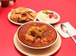 Spicy food Pozole