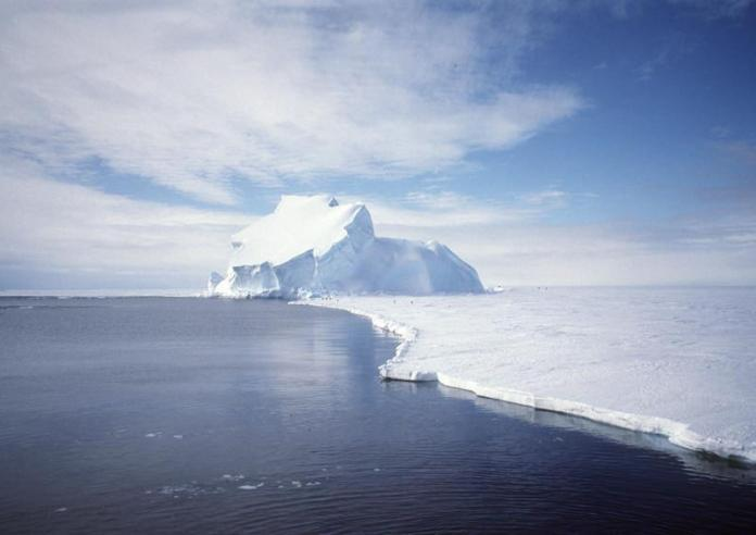 Thanks to global warming, the Antarctic is reaching melting point