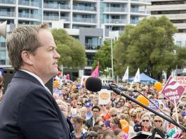 Shorten warns Liberals will privatise ABC if party wins next election