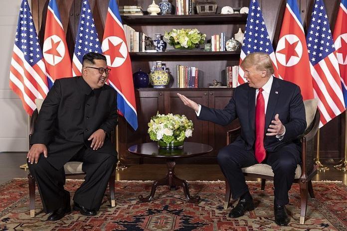 Donald Trump awkwardly salutes North Korean General, faces backlash