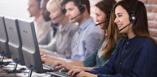 How can call centres manage the customer data