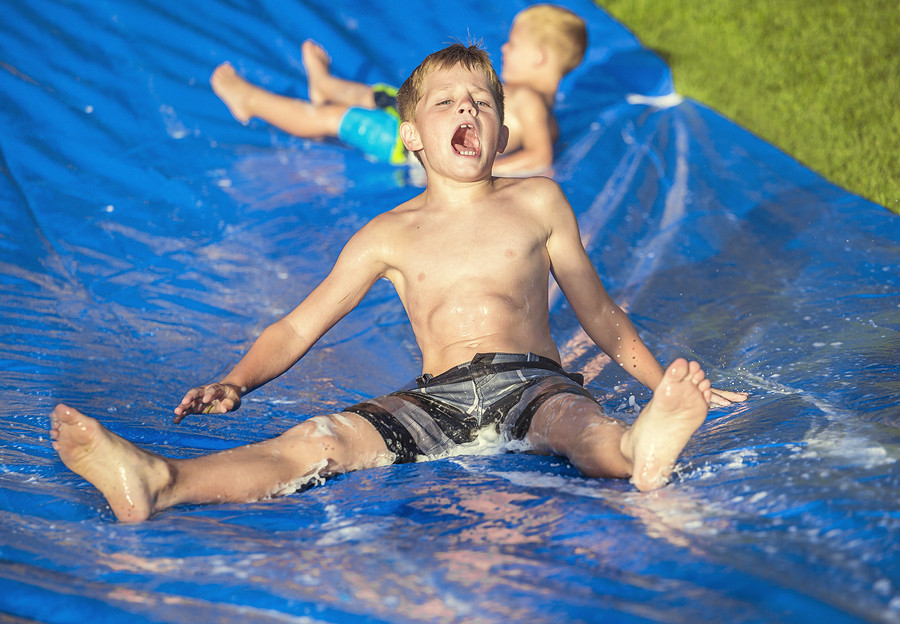 How to make the slip n' slide