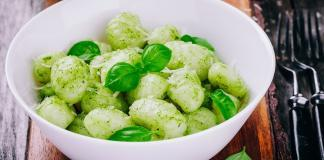 Unlock your taste buds with basil pesto gnocchi