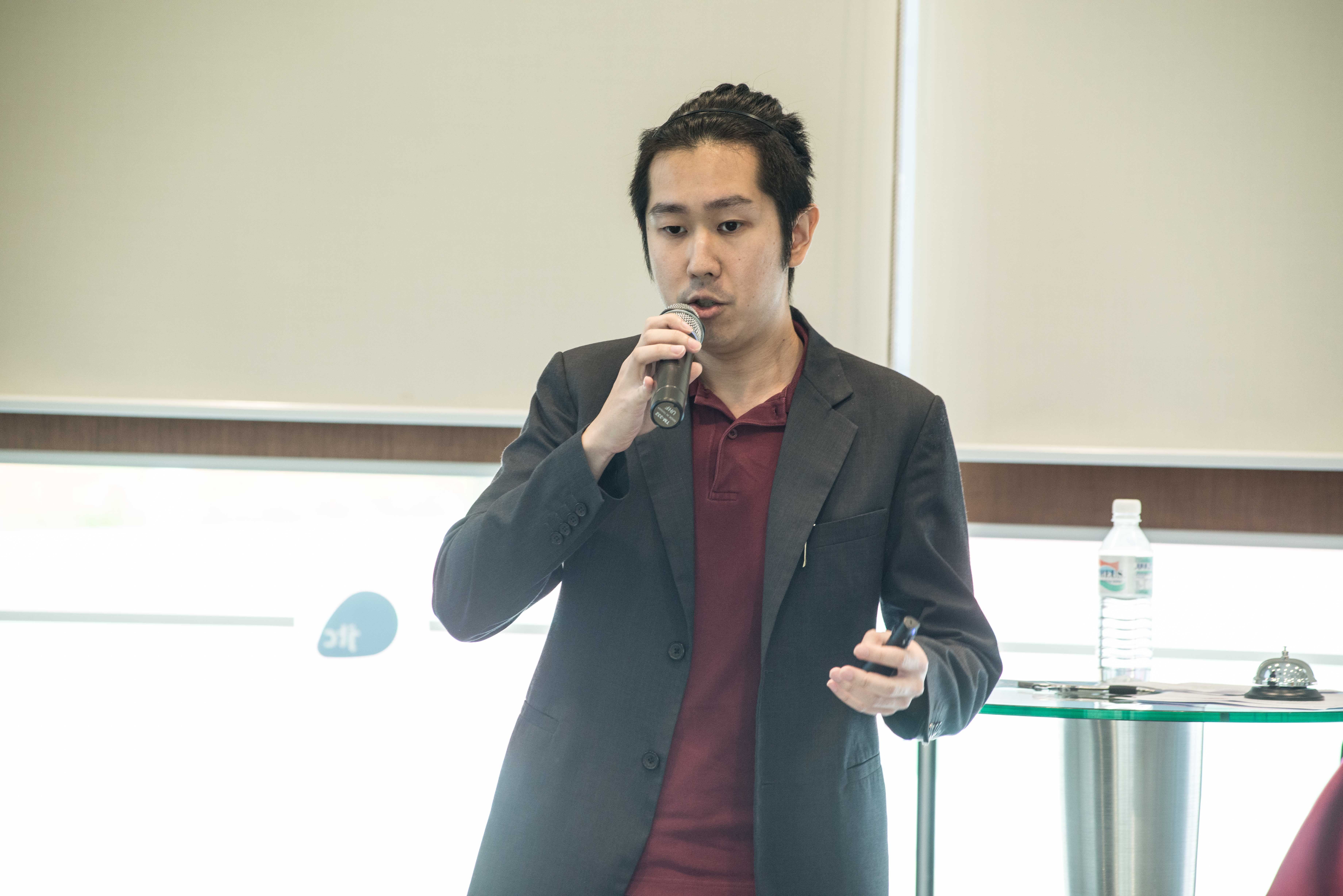 Benjamin Yee talks about breaking into a highly competitive market
